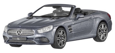 Модель Mercedes-Benz SL, Roadster, Scale 1:43, Selenite Grey