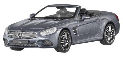 Модель Mercedes-Benz SL, Roadster, Scale 1:43, Selenite Grey