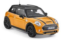 Модель автомобиля Mini Hatch Cooper S (F56), Volcanic Orange, Scale 1:18, 2016