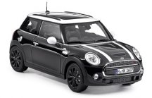 Модель автомобиля Mini Hatch Cooper S (F56), Midnight Black, Scale 1:18