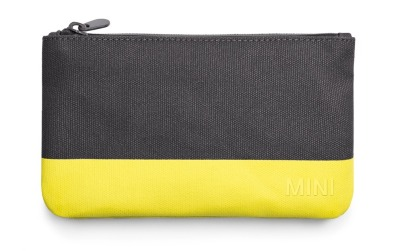 Косметичка Mini Pouch Small Colour Block, Grey/Lemon