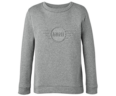 Женский джемпер MINI Ladies Sweatshirt Wing Logo 3D, Grey