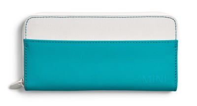 Мини кошелек Mini Wallet Colour Block, White/Aqua