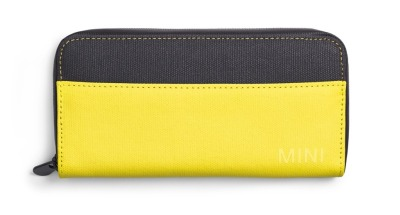 Мини кошелек Mini Wallet Colour Block, Grey/Lemon