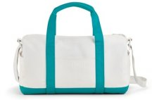 Спортивная сумка Mini Duffle Bag Colour Block, White/Aqua