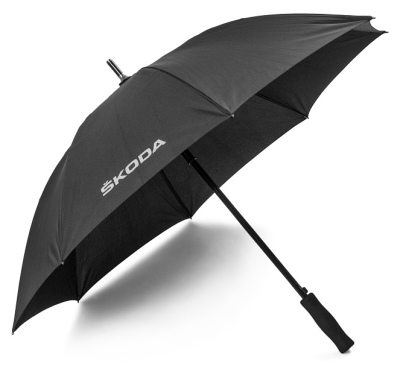 Зонт-трость Skoda Stick Umbrella Aquaprint Black