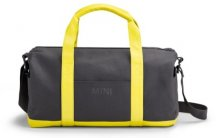 Спортивная сумка Mini Duffle Bag Colour Block, Grey/Lemon