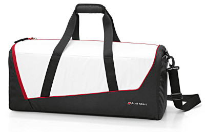 Спортивная сумка Audi Sports bag, Audi Sport, black/white/red