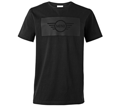 Мужская футболка Mini Men's T-Shirt, Wing Logo Cut-Out, Black