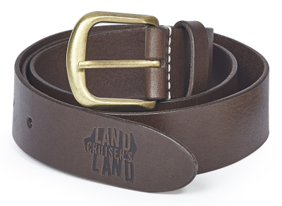 Кожаный ремень Toyota Leather Belt, Dark Brown