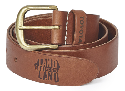 Кожаный ремень Toyota Leather Belt, Light Brown