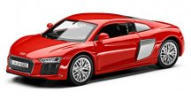 Инерционный автомобиль Audi R8 V10 Pullback, Scale 1:38, Dynamite Red