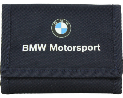 Кошелек BMW Motorsport Wallet, Team Blue-High Risk Red