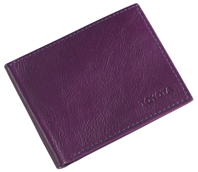 Кожаное портмоне Toyota Leather Wallet, Weekend, Lilac