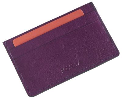 Кожаный футляр для кредитных карт Toyota Leather Credit Card Case, Weekend, Lilac