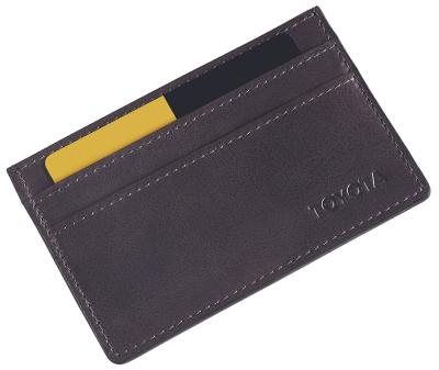 Кожаный футляр для кредитных карт Toyota Leather Credit Card Case, Weekend, Grey