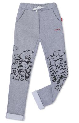 Детские штаны для мальчиков Toyota Boys Pants, Grey Melange