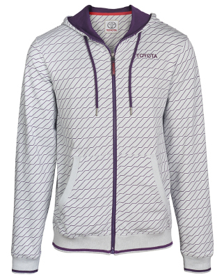 Мужская толстовка Toyota Men's Hoody, Weekend, White/Purple