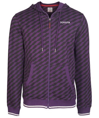 Мужская толстовка Toyota Men's Hoody, Weekend, Purple