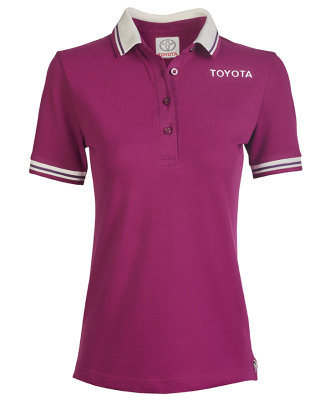 Женская рубашка поло Toyota Ladies Polo Shirt, Weekend, Lilac