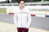 Женская куртка BMW Motorsport Softshell Jacket, ladies, White, артикул 80142285814