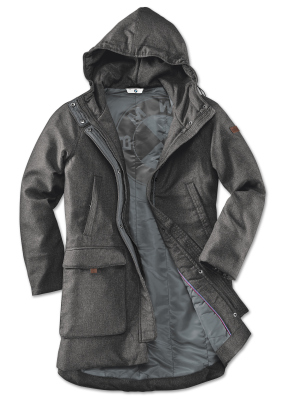 Женская куртка BMW Jacket, Ladies, Space Grey Melange