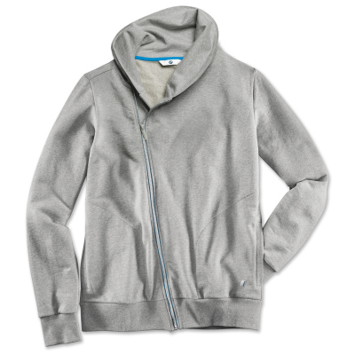 Мужская спортивная куртка BMW i Sweat Jacket, Men, Grey Melange