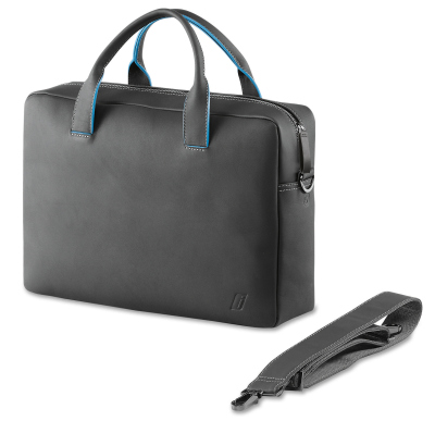 Кожаная сумка BMW i Leather Bag, Carbon Grey