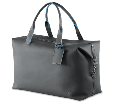 Кожаная сумка BMW i Leather Weekender Bag, Carbon Grey