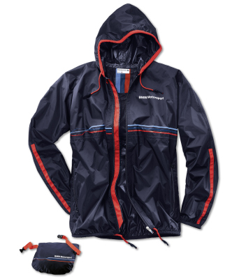 Куртка-дождевик BMW Motorsport Rain Jacket, unisex, Team Blue