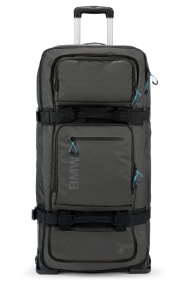 Чемодан BMW Trolley Bag, Black/Aqua