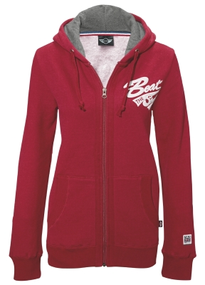 Женская куртка Mini Ladie's Hooded Sweet Jacket, Red