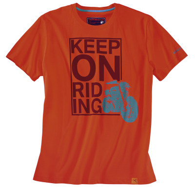 Мужская футболка BMW Motorrad Keep on riding T-shirt, Red
