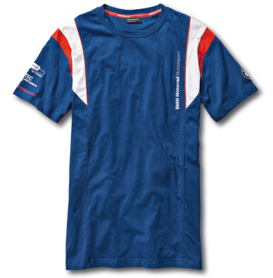 Мужская футболка BMW Motorrad Motorsport T-Shirt, for Men, Blue
