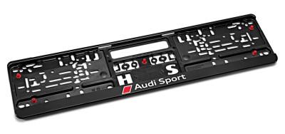 Пластиковая рамка под номер Audi Sport Number plate holder