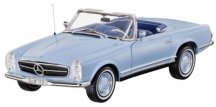 Модель Mercedes-Benz 230 SL, Pagoda, W113, 1963-1967, Horizon Blue, 1:18 Scale