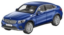 Модель Mercedes-Benz GLC Coupé, Brilliant Blue, 1:18 Scale