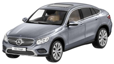 Модель автомобиля Mercedes GLC Coupé, Selenite Grey, Scale 1:43