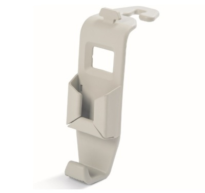Крючок для сумок с держателем мобильного телефона Skoda Bag Hanger, Beige