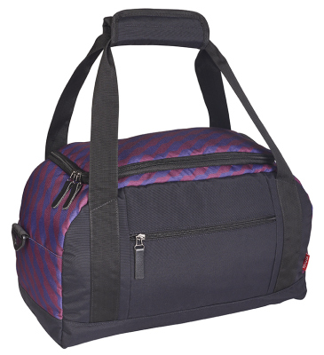 Спортивно-туристическая сумка Toyota Travel Bag, Black/Purple