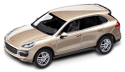 Модель автомобиля Porsche Cayenne Turbo E2 II, 1:43 Scale, Gold Metallic