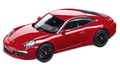 Модель автомобиля Porsche 911 Carrera GTS (991), Scale 1:43, Carmine Red