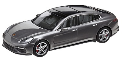 Модель автомобиля Porsche Panamera Turbo Executive G2, Scale 1:43, Agate Grey Metallic