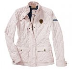 Женская куртка Porsche Women's Jacket – Classic collection, Beige/Pink