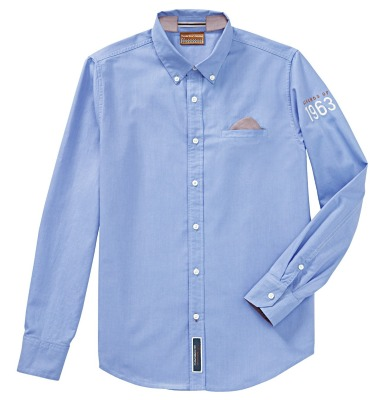 Мужское поло Porsche Men's shirt – Classic collection, Blue
