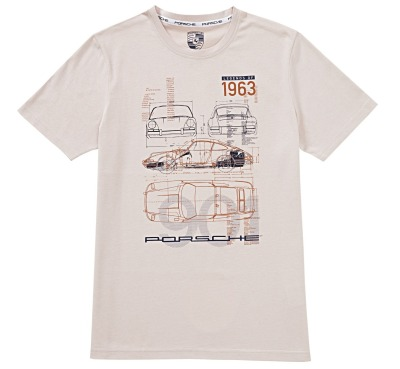 Футболка унисекс Porsche Collector's T-Shirt Edition No. 7 Unisex - Classic Collection