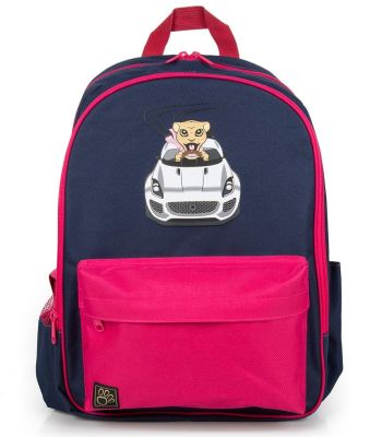 Детский рюкзак Jaguar Kids Backpack, Navy/Pink