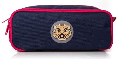 Детский пенал Jaguar Kids Pen Case, Navy/Pink