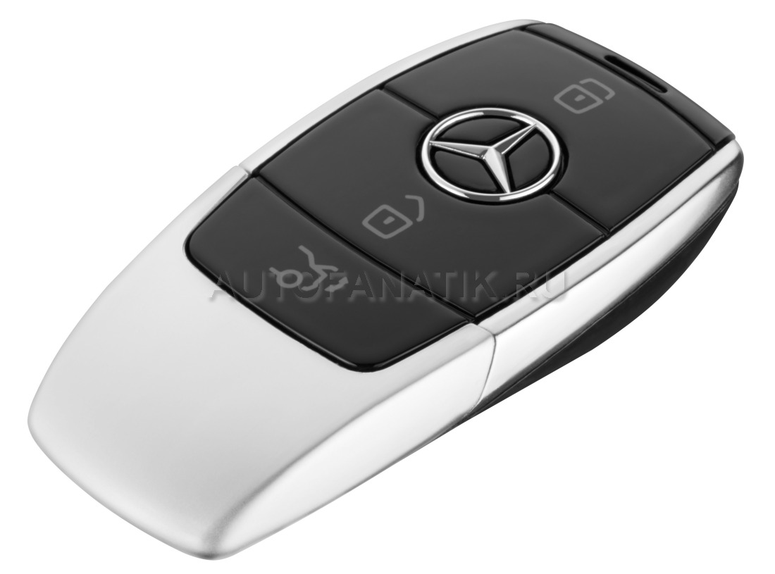 Mercedes Benz Usb Stick Key Style Black Silver