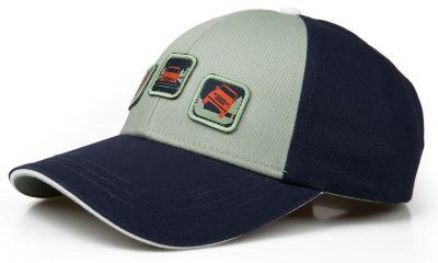 Детская бейсболка Land Rover Kid's Cap, Off Road, Navy/Grey